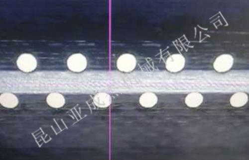 微孔加工双排孔检测